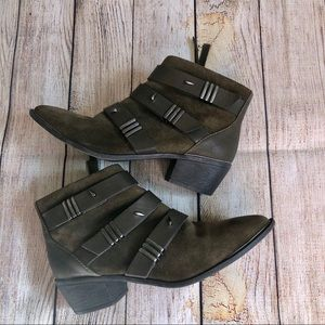 Sam Edelman Circus Harley Suede / Leather Booties